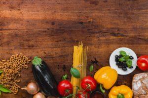 Zelenina a cestoviny