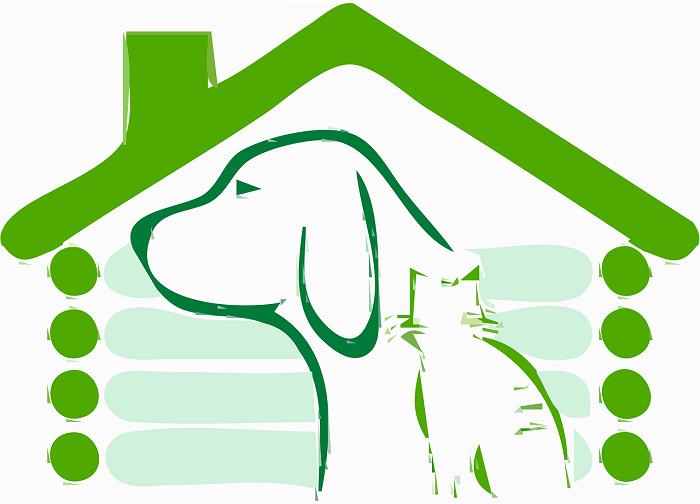 Domcek pre psa so strechou
