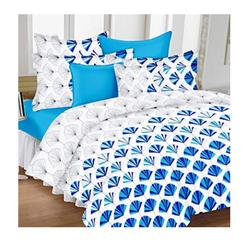 Postelna bielizen v modrej farbe